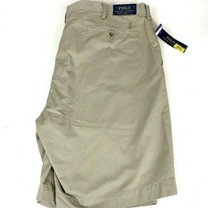 Polo Ralph Lauren Men's Khaki Shorts 44T NEW